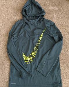 Nike dri fit lightweight boys hoodie EUC